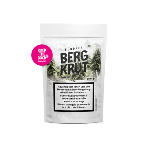 Rock the Bock 2 | Bergkrut | CBD Cannabis | uWeed | Swiss CBD Shop | Buy Online Shop CBD Switzerland