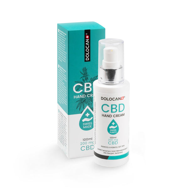 CBD Hand Cream-CBD Cosmetics-Dolocan-Swiss CBD Shop-uWeed
