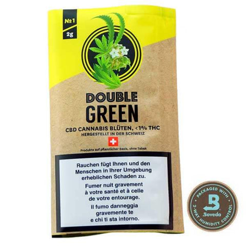 DoubleGreen Nr. 1 | Double Green | CBD Cannabis | uWeed | Swiss CBD Shop