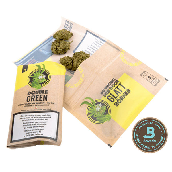 DoubleGreen Nr. 1-CBD Cannabis-Double Green-Swiss CBD Shop-uWeed
