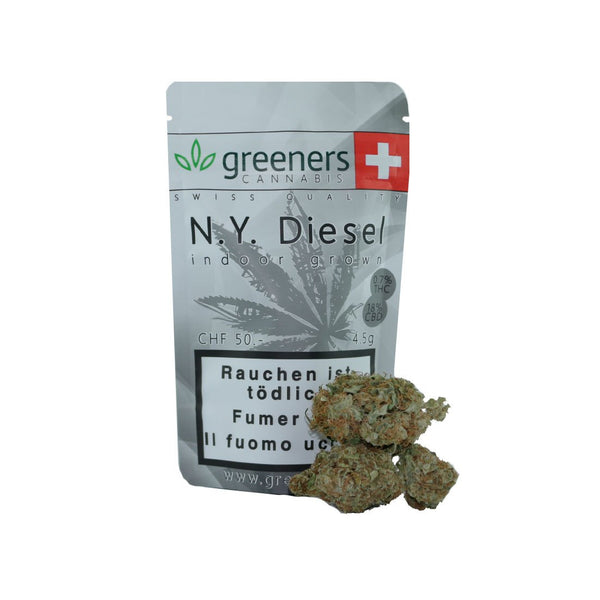 N.Y. Diesel-CBD Cannabis-Greeners-Swiss CBD Shop-uWeed