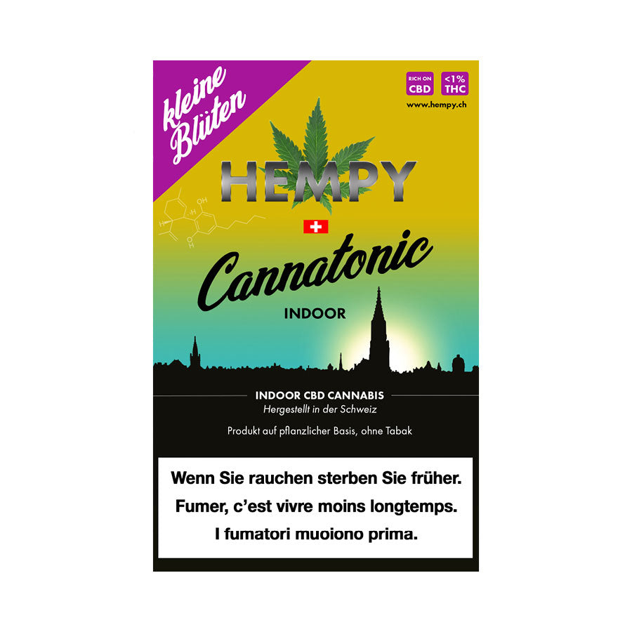 Cannatonic Indoor - Kleine Blüten-CBD Cannabis-Hempy-Swiss CBD Shop-uWeed