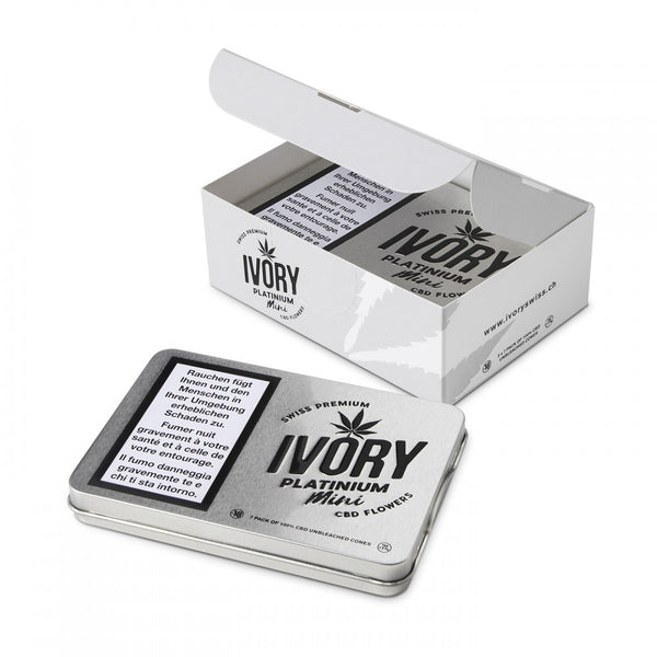 Platinum Mini-Pre-Rolls-Ivory-Swiss CBD Shop-uWeed