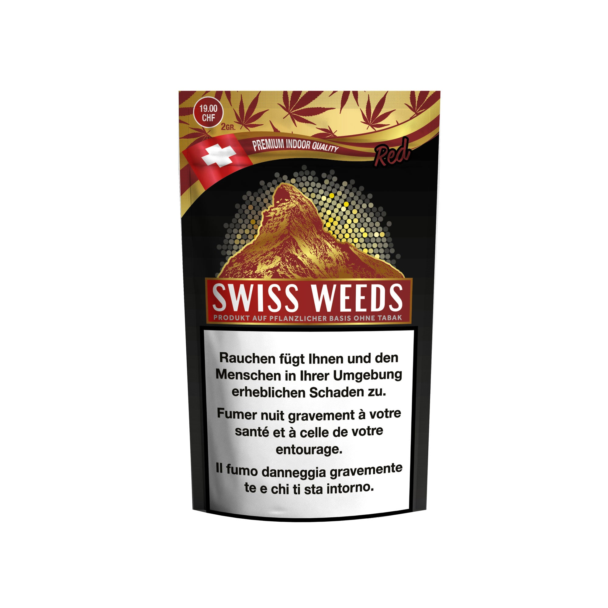 Swiss Weeds Red