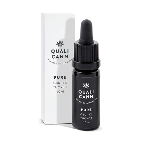 Pure 16% - CBD Oil (1600mg) | Qualicann | CBD oil | uWeed | Swiss CBD Shop | Buy Online Shop CBD Switzerland