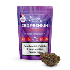 Purple Haze-CBD Cannabis-Swiss Botanic-Swiss CBD Shop-uWeed