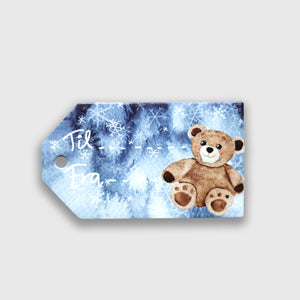 Gift tags 'Teddy'