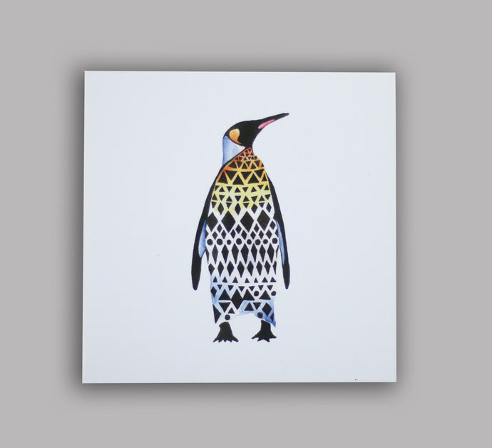 Postcard Penguin