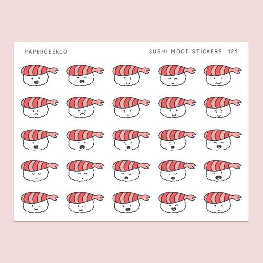 PAPERGEEK Sushi Mood Stickers 121