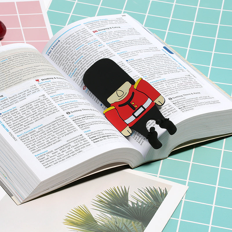 English Soldier Bookmark