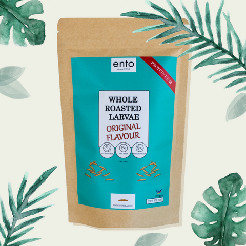 ENTO: Original Roasted Larvae 50g