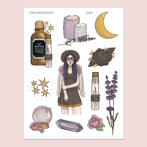 PAPERGEEK Celestial Witchcraft Stickers 258