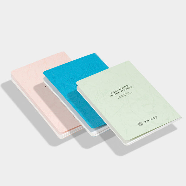 ANA TOMY Pocket Size Notebook: 555 — The legend in the pocket