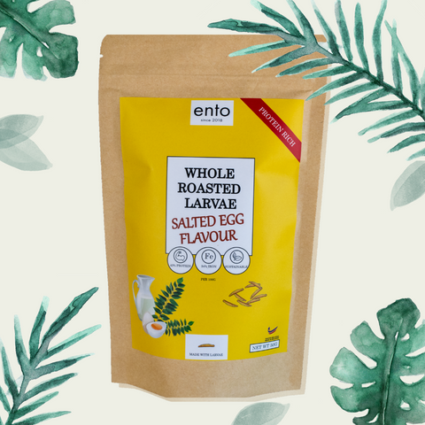 ENTO: Salted Egg Yolk Roasted Larvae 50g
