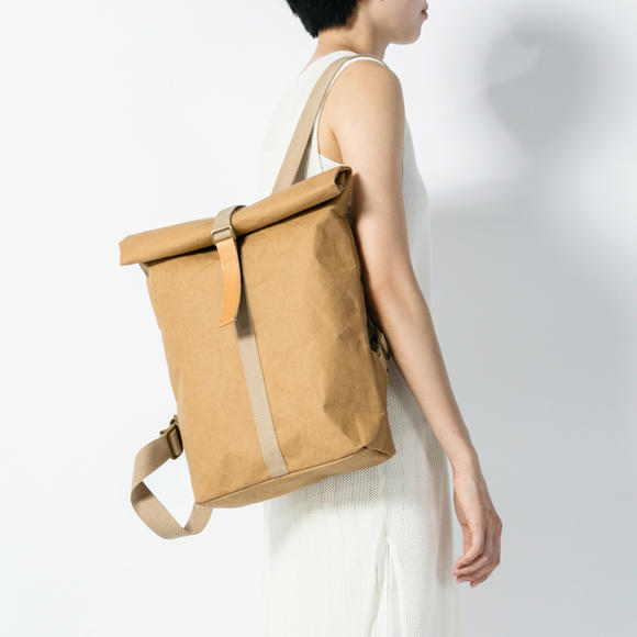 ALFVEN Kraft-paper Shoulder Bag