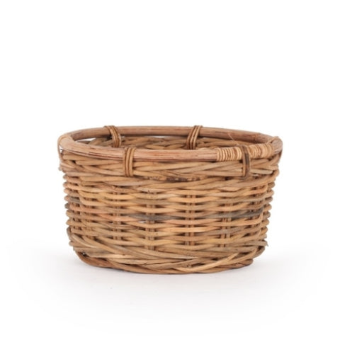 Natural Bismarck Wicker Scarf Basket