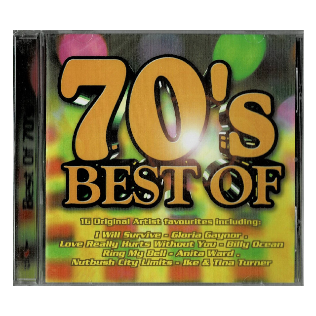 Music CD : Best of 70s