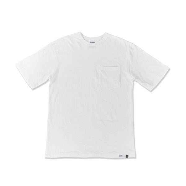 BONDWITH Pocket Tee SS: White