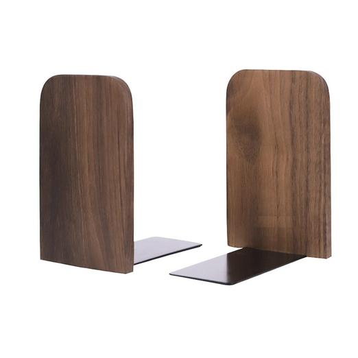 Alura Walnut Bookend (1pc)