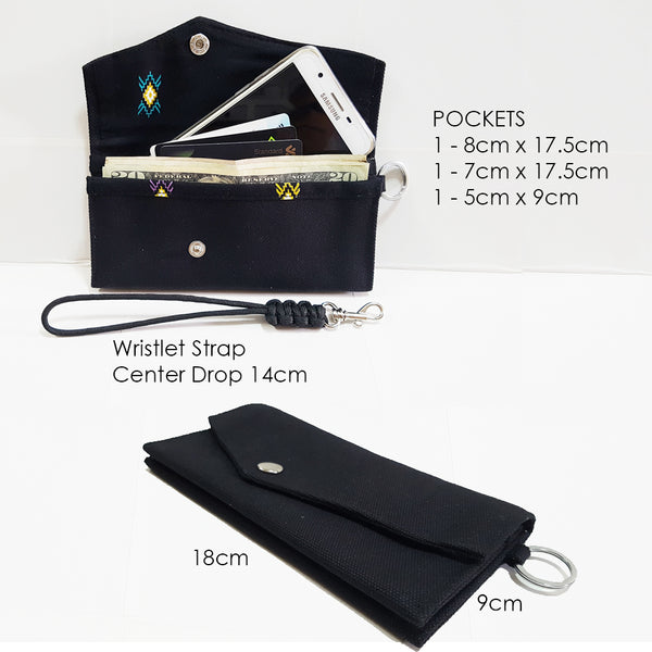 Canvas Wallet / Travel Wallet / Phone Case