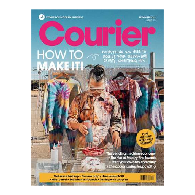 Courier Issue 39 : How To Make It!
