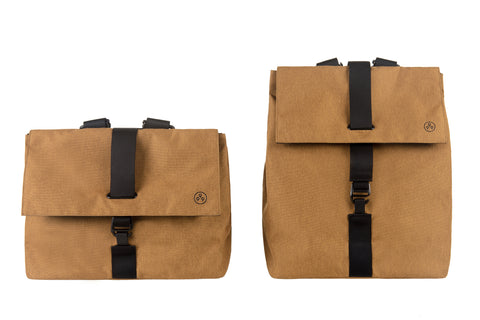 KIWEE Square Backpack: Ginger Colour M