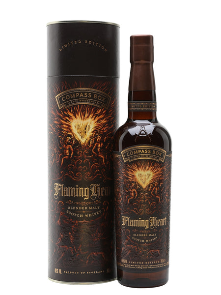 MANO PLUS | Compass Box Flaming Heart Blended Malt Scotch Whisky