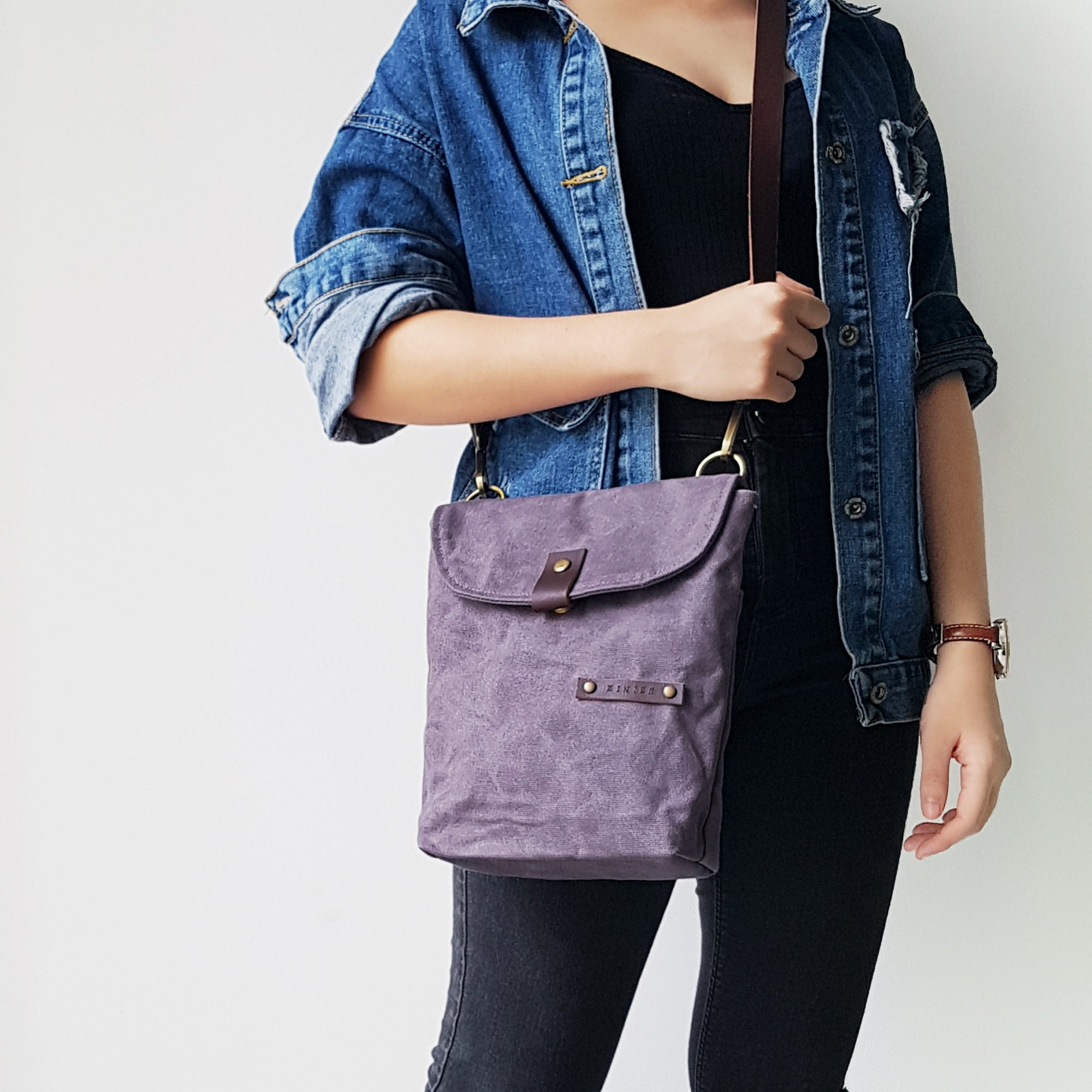 Flip Flap Cover Sling Bag (Large)