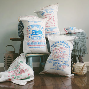 Flour Mills Pillow Cover