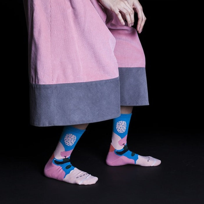 GOODPAIR SOCKS: Buah / Tropical Peach
