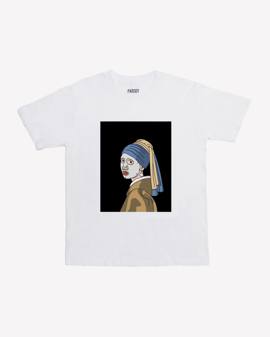 Girl With A Facial Mask Tee