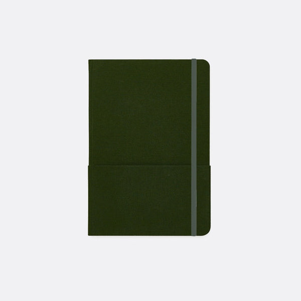 A5 Linen Hardback Dot Grid Notebook