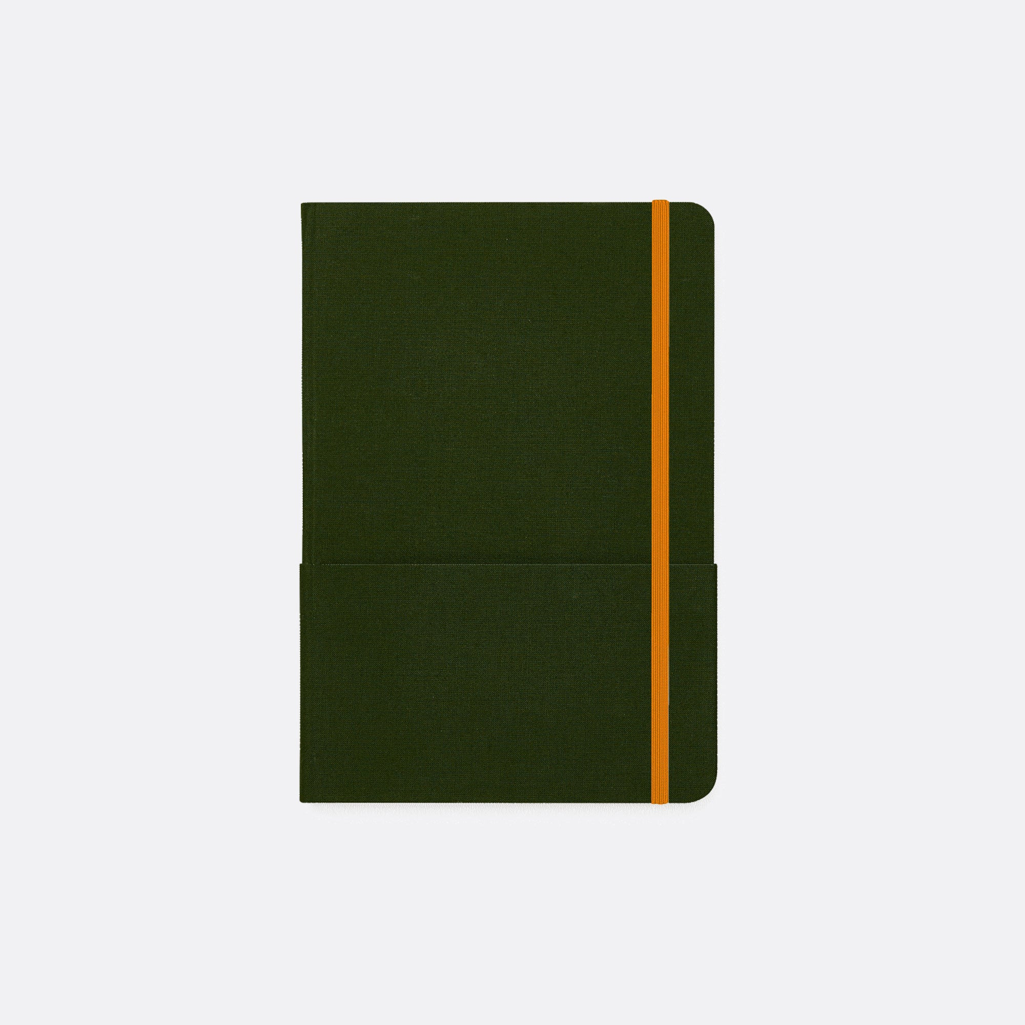 SUMMORIE Notebook: A5 Linen Hardback Ruled Line Inserts
