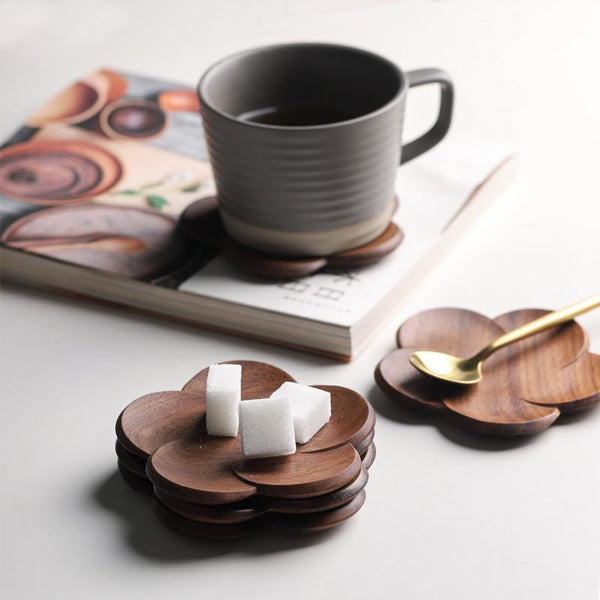 MANO PLUS | Ally Walnut Wood Coaster