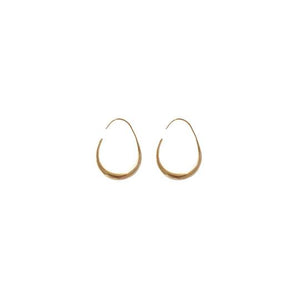 MANO PLUS | CINDERTOELLA I Kellie Gold Earrings