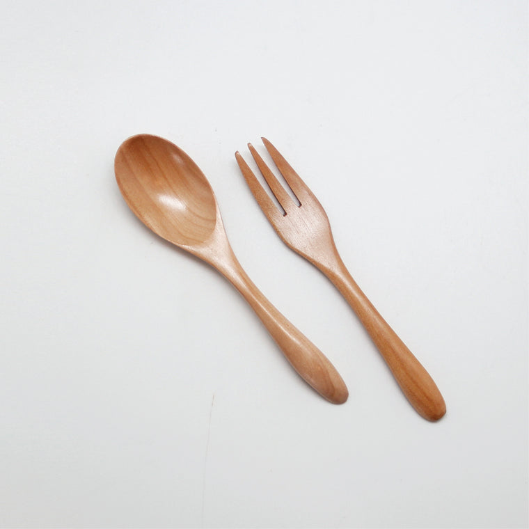 Stella Wooden Spoon & Folk