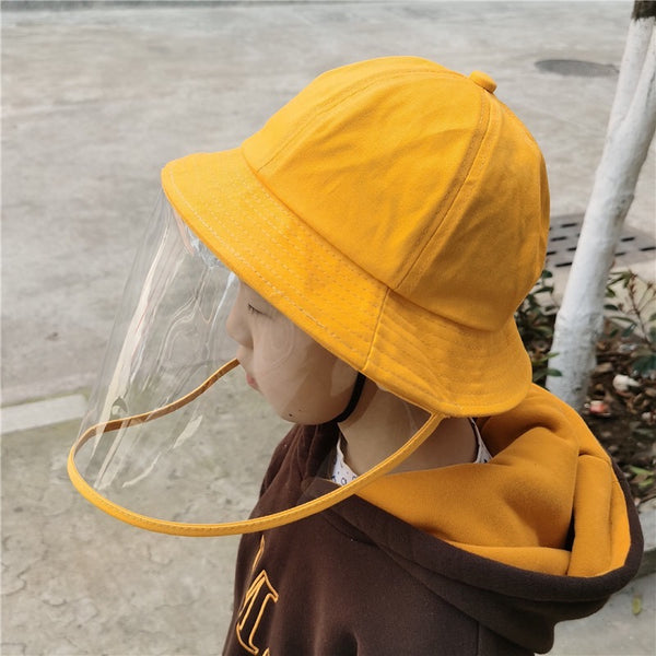 Kids Fisherman Hats With Protector - L Size