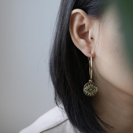 MANO PLUS | CINDERTOELLA I Lauren Earrings