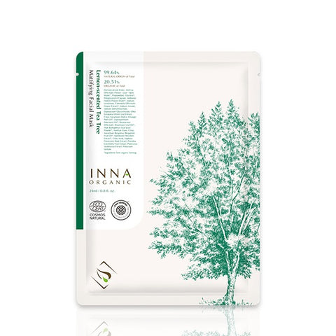 MANO PLUS | INNA ORGANIC Lemon Tea Tree Face Mask