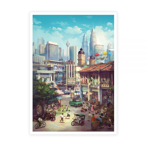 Malaysia Postcard Collectible Set A