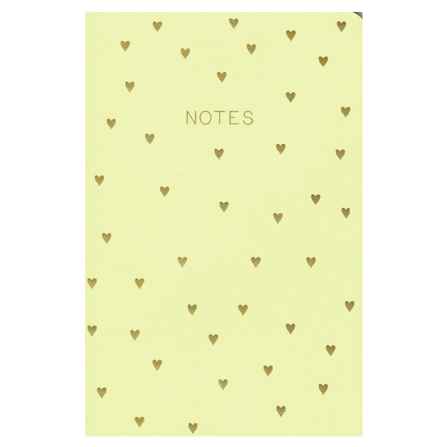 PAPERGEEK Floral Notebook - Set of 3 : Yellow