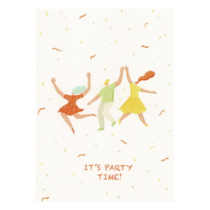 EJ MEMENTO Greeting Cards: It's Party Time
