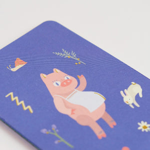 SUMMORIE Notebook: A6 Illustrated Pocket Size