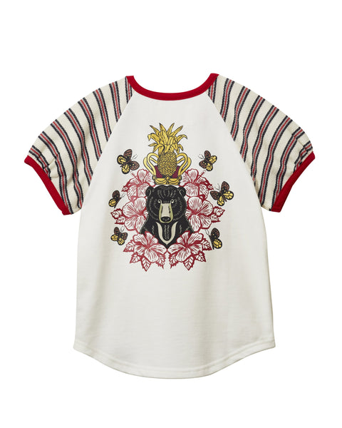 MANO PLUS | Pagoda Kingdom | Sun Bear T-Shirt