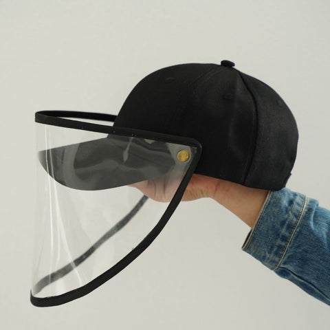 Mano Plus I Baseball Caps With Face Shields