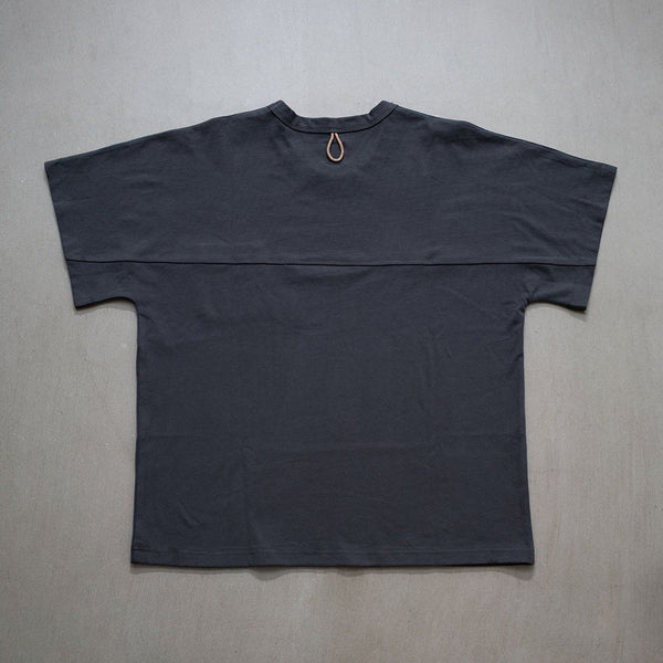 Oversized Splicing Pocket Tee