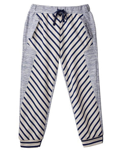 MANO PLUS | Pagoda Kingdom | Stripey Retro Joggers