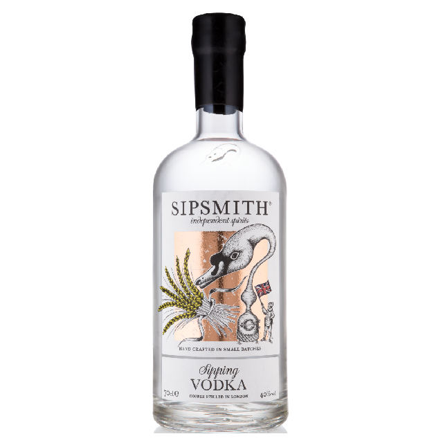 Sipsmith Sipping Vodka 40% Alcohol 700ml
