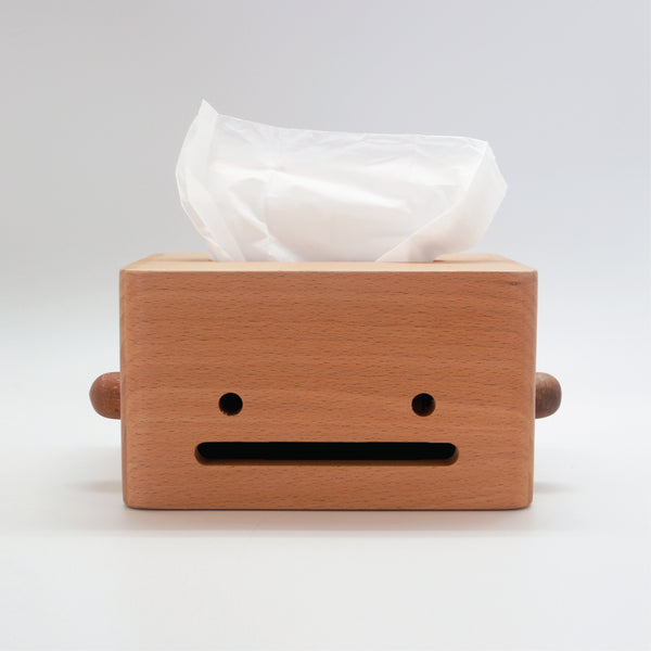 Oscar Wooden Tissue Box
