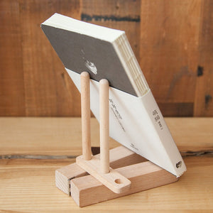 CASPER Wooden Book Stand